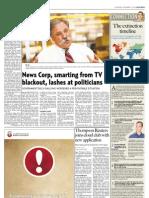 Interview on Newspaper Extinction Timeline in Gulf News