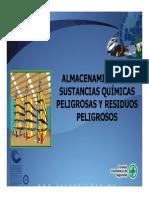 Almacenamiento de Sustancias Químicas Peligrosas y Residuos Peligrosos