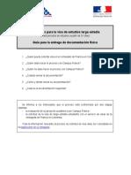 Requisitos Visa de Francia
