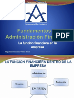 La Funcion Financiera