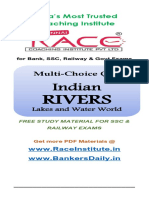 Short Notes Rivers Drainage System of India – Ssc Rrb Tnpsc Exams Free PDF Material for Ssc Railway Rrb Tnpsc Exams