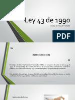Ley 43 de 1990 (1)
