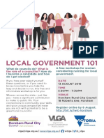 Women in local government workshop