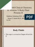 Body Fluids Proteins