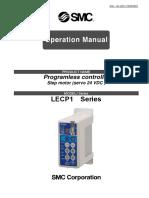 LEC-P1_Motor a Pasos_Manual de Operación.
