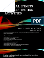 PHYSICAL FITNESS and Self Testing Activities