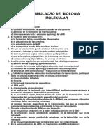 Simulacro de Biologia Molecular