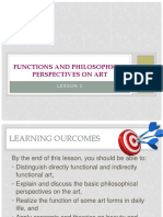 3functionsandphilosophicalperspectivesonart-180822023449