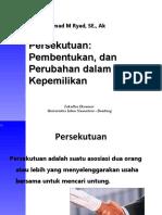 Persekutuan Formasi Dan Operasi Kuliah 1