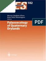 Werner Smykatz-Kloss & Peter Felix-Henningsen - Palaeoecology of Quaternary Drylands