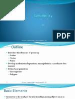 Graphics Geometry