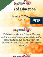 Pioneers of Education
