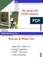 505 CTPT Analyzer
