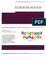 Los derechos humanos.