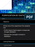 Purification by Distillation