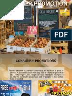 consumer promotion