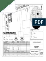 Plano de Ubicacion ALBERGUE