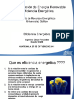 CNEE Ing. Cesar Fernandez Eficiencia Energética