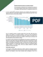 baja participación electoral de los jovenes chilenos