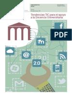 Tendencias TIC en La Docencia Universitaria Ccesa007