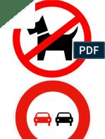 Prohibition & Obligation Signs