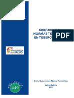 Manual de Normas Tecnicas en Tuberculosis 2020 Bolivia