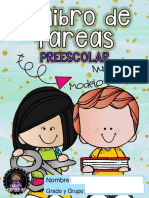Mi Libro de Tareas Preescolar Nuevo Modelo Educativo