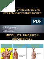 Expo Puntos Gatillos en Las Extremidades Inferiores