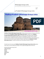 Whatsappgrouplink.org-Madhya Pradesh Whatsapp Group Links