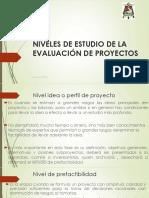 1.2 Niveles de Estudio y Ciclo de Vida de Proyectos