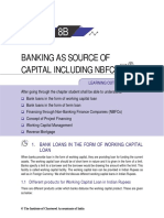 Banking as a Source of Capital Including NBFCs