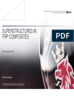 Superstructures in FRP Composites Henrik Johansson
