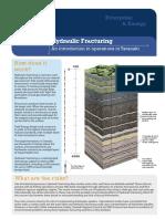 Todd Energy Frac Factsheet