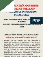 Proyecto de Innovacion 2018