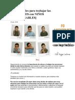 30 Actividades Para Trabajar Las EMOCIONES Con NIÑOS