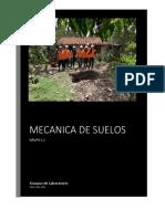 MECÁNICA DE SUELOS I