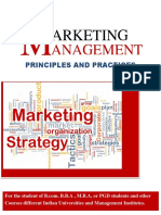Marketing Management ; Devtosh Mukherjee
