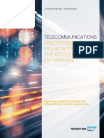 Telecommunications Unlocking Value With the Intelligent Enterprise