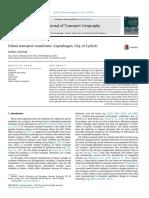 Urban transport transitions