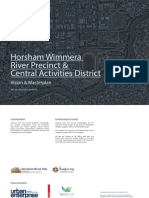 Horsham council's City to River draft master plan