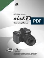 Pentax istDL Manual