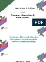 ecuacion diferencial