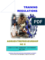 Tr Agroentrepreneurship Nc II