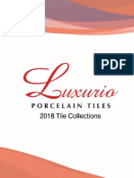 Luxurio 2018 Tile Collections for Worldbex UDPATED