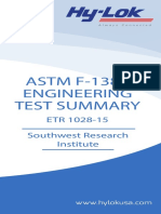 Test Summary ASTM