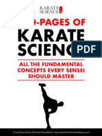300 pages of Karate Science