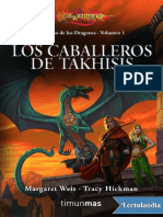 1.Los Caballeros de Takhisis - Margaret Weis