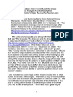 demo first crusade worksheet history crescent and the cross