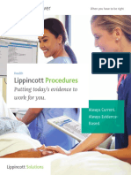 Lippincott Procedures 2017 Brochure