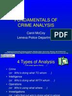 WSURCPI Crime Analysis